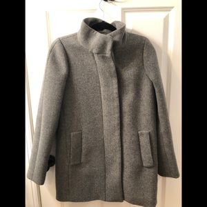 J Crew gray wool blend coat, 2